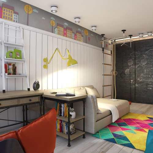Дизайн детской комнаты для подростка мальчика дизайн