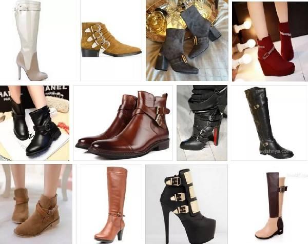 14837aee0 Образцом женственности и лаконичности стали сапоги и туфли с пряжками. При  этом форма носка и высота каблука не имеют значение. Основной акцент  делается на ...