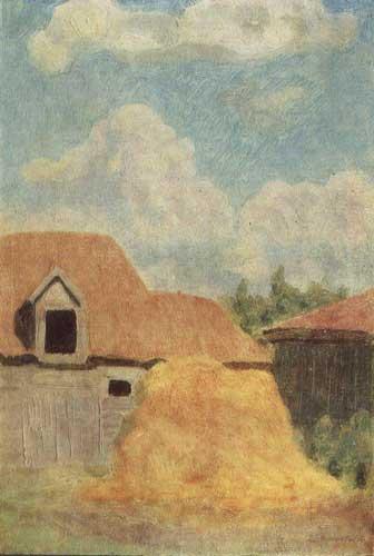 Крымов. Пейзаж, 1916