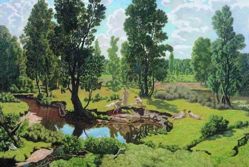 Крымов. Летний день, 1915