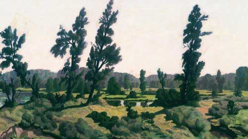 Крымов. Летний день, 1914