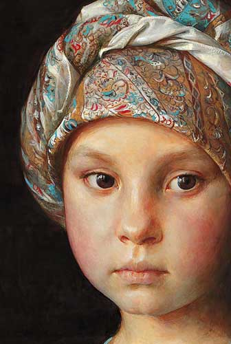 Детский портрет. Т. Чувашева