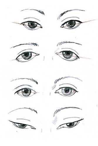 Раскосые глаза у детей 62